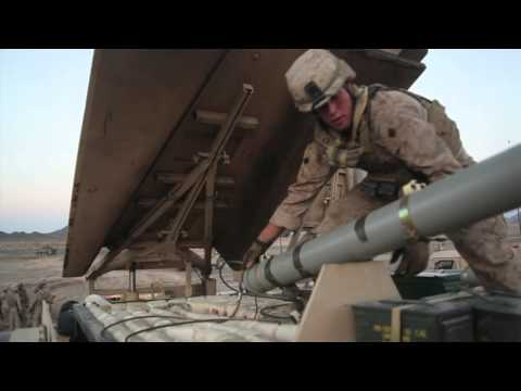USMC 1st CEB M1 Assault Breacher Vehicle (ABV) M58A4 MICLIC Live Fire