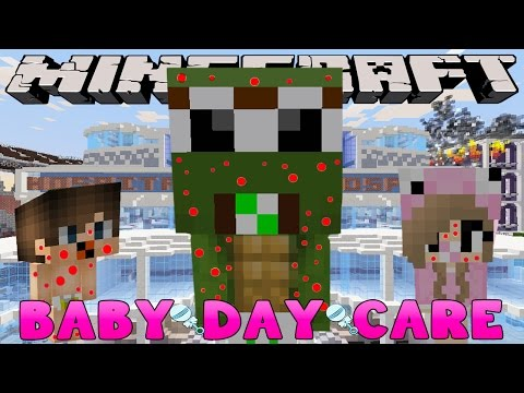 Minecraft-Baby Day Care-THE BABYS GO TO THE BABY HOSPITAL!!