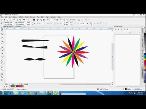 Artistic Media Tool in Coreldraw How to Use Artistic Media Tool