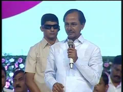 CM KCR SPEECH ON TELANGANA FORMATION DAY AT HICC