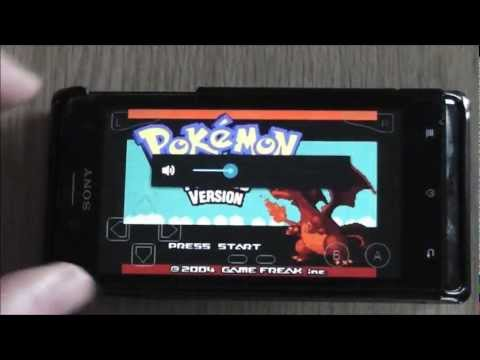 Pokémon Fire Red - Emulated on Android