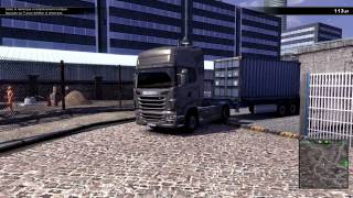 Scania Truck Driving simulator suspension