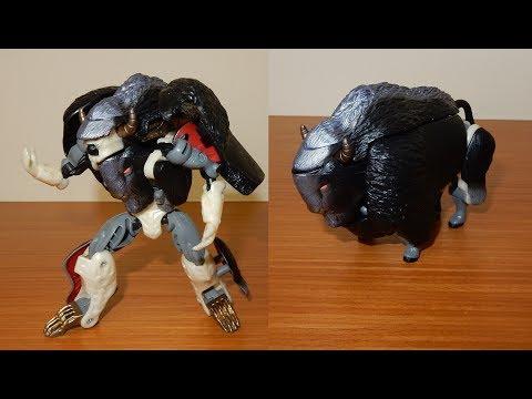 161、變形金剛 百變金剛 野獸大戰 美洲 野牛 畢隆 1998 Beast Wars Ⅱ BIG HORN TAKARA