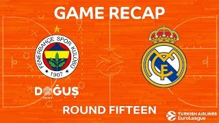 Highlights: Fenerbahce Dogus Istanbul - Real Madrid