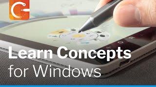 Concepts for Windows Walkthrough