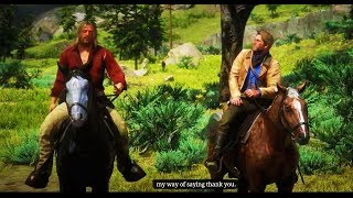 Red Dead Redemption 2 - Getting MICAH BELL Out Of The Jail In Strawberry