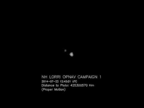 Pluto and Charon viewed by NASA New Horizons