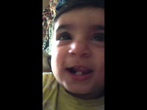 Kalma Shahadat By 1 Year Old Practicing video
