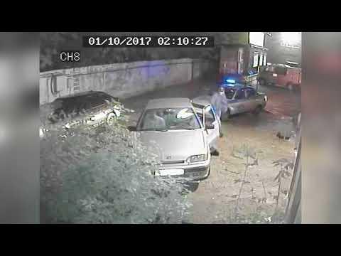 Погоня за 14, ул. Воровского. Место происшествия 13.10.2017