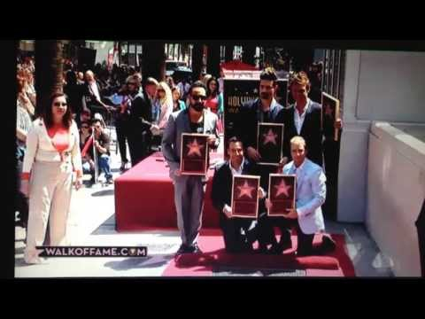 Backstreet Boys Hollywood Star