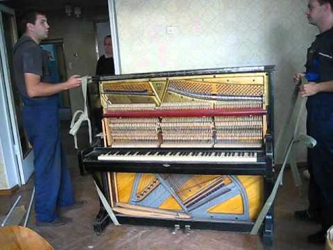 Перевозка пианино и роялей в Воронеже.