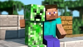 "Eminem ""The Monster"" MINECRAFT PARODY - Friends With A Creeper"