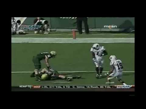 NCAA Football Hardest Hits 2008-2009-2010 klip izle