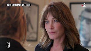 L 39 Interview De Carla Bruni Stupéfiant
