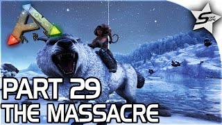 SAVING OUR STRONGEST DINO, The Massacre... - ARK Survival Evolved PS4 PRO Gameplay Part 29