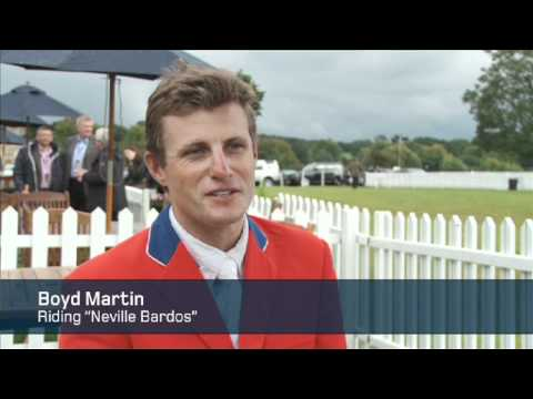 Boyd Martin's 2011 Land Rover Burghley Horse Trial