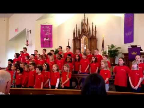 Trinity lone oak Lutheran school choir