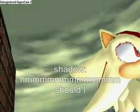 Sonic Adventure DX - Super shadow becomes Super shadow