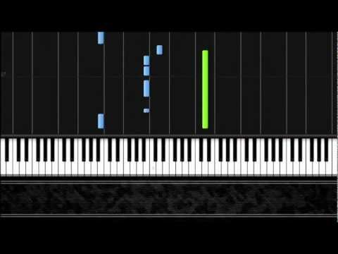 Psy - Gangnam Style - Easy Piano Tutorial - Synthesia video