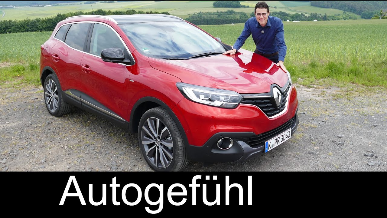 All-new Renault Kadjar Bose Edition FULL REVIEW test ...