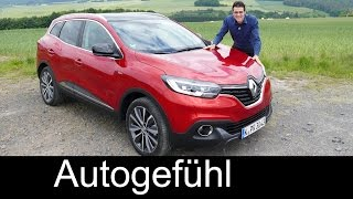 All-new Renault Kadjar Bose Edition FULL REVIEW test driven compact SUV sister of Nissan Qashqai