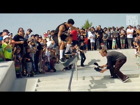 DEMO DAYS | ASPHALT YACHT CLUB - RILEY HAWK, FIGGY, NYJAH AND MORE : MONTREAL, CANADA