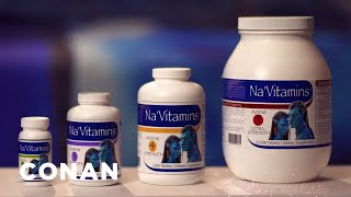 "Stay Alive For All Four ""Avatar"" Sequels With Na'Vitamins - CONAN on TBS"
