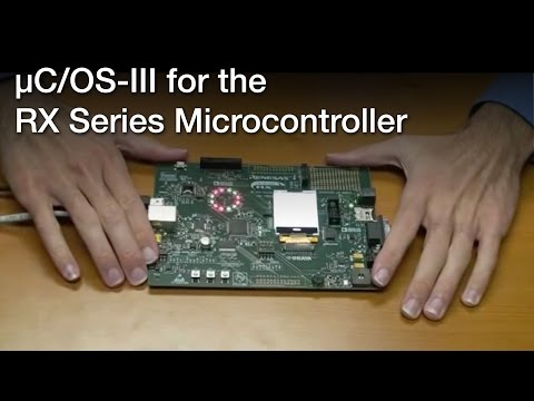 µC/OS-III for the RX Microcontroller