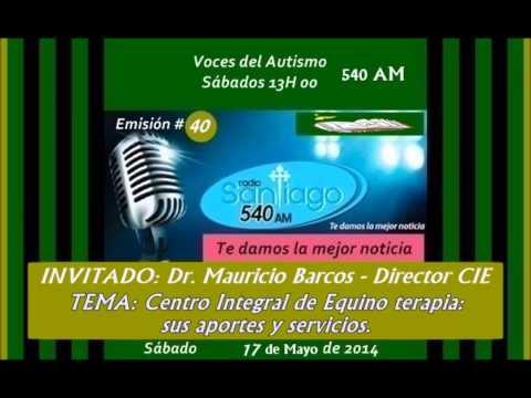 Radio SANTIAGO P40 /  Centro Integral de Equino terapia con Mauricio Barcos  (Director) 2014.05.17.