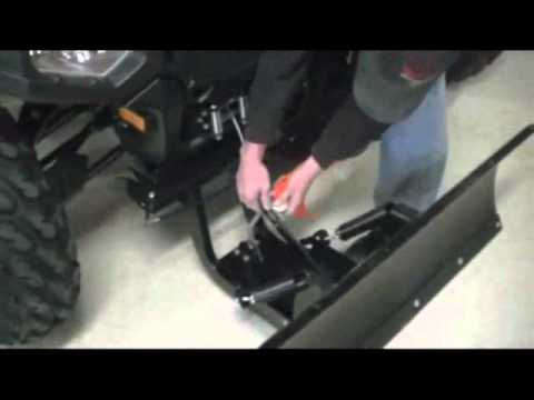for atv winch wiring diagram how to install plow on polaris    atv    youtube  how to install plow on polaris    atv    youtube