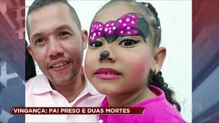Pai que matou filha e outra criança é preso