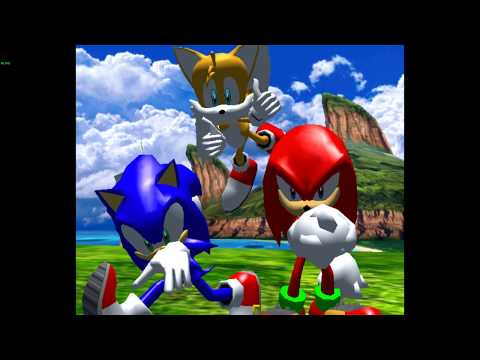 Misc Computer Games - Sonic Heroes - Seaside Hill