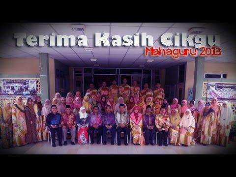 Terima Kasih Cikgu | Mahaguru 2013