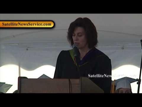 HARWICH, MA- Vicki Reggie Kennedy Speaks at Harwich High School Graduation (06-13-10)