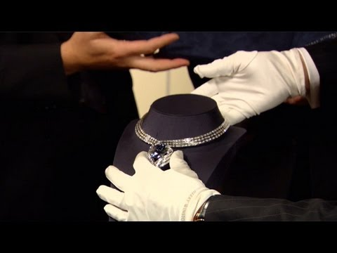 The Hope Diamond's New Setting Revealed