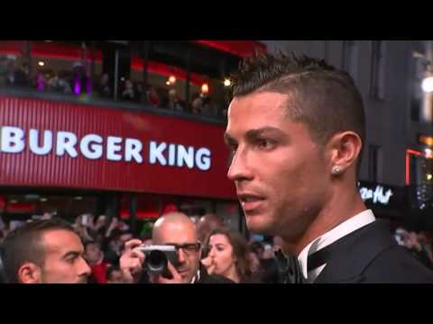 Sir Alex Ferguson attends Cristiano Ronaldo's movie premiere in London