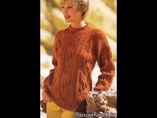 Модели Пуловеров Спицами для Вязания - 2019 / Patterns Pullovers Knitting needles for knitting