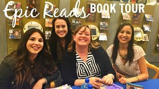 EPIC READS BOOK TOUR | Victoria Aveyard, Cynthia Hand, & Jasmine Warga