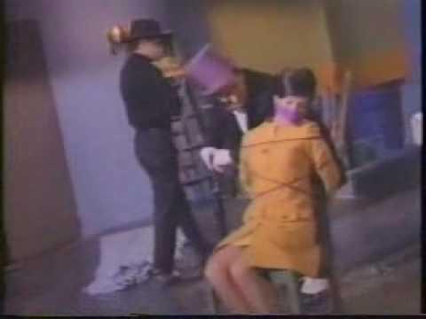 Barbara Gordon gets gagged by penguin Video