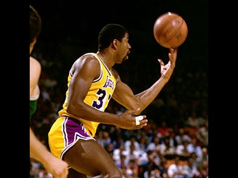 【NBA】 マジックジョンソンの予測不能なプレイ集