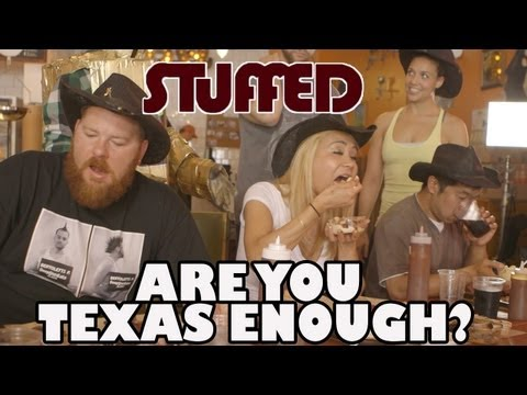 Finger-Lickin' Texas Barbecue Challenge - STUFFED Ep. 9