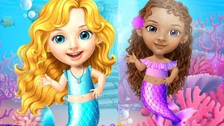 Sweet Baby Girl Mermaid Life - Magical Ocean World - Play Fun Dress up Mermaid Games