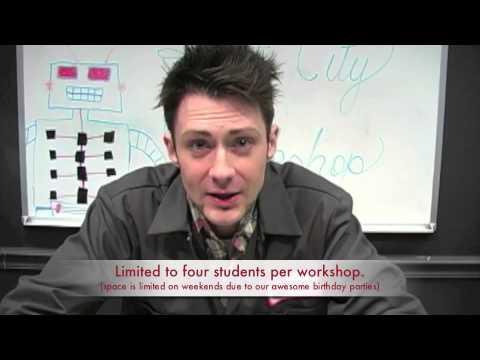 Educational Workshops at Robot City Workshop