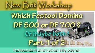 Which Festool Domino - Part 1