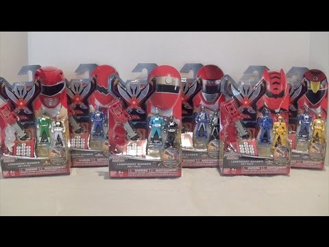 Legendary Ranger Key Packs Wave 4 Review [Power Rangers Super Megaforce]
