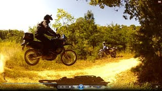 DRZ400s KLR650 Jumps: AIR TIME!