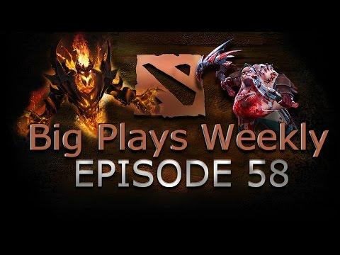 Dota 2  Big Plays Weekly  Ep 58