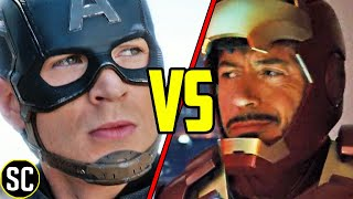 The Scene That Explains Why Winter Soldier Worked and Iron Man 2 Didn't - SCENE FIGHTS!