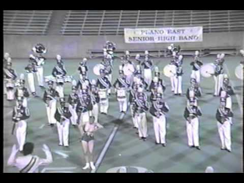 1992 Berkner Ram Band Halftime Show (Drumline Focused)