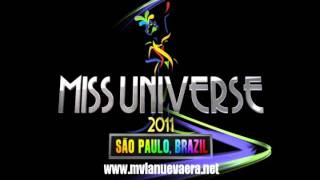 NEW Miss Universe Final Look song 2011